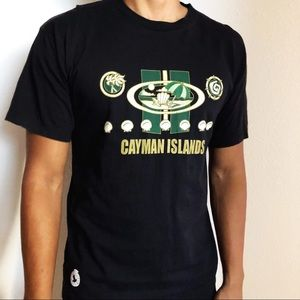 Vintage vacation Cayman Islands beach tee shirt L